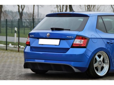 Skoda Fabia MK3 Intenso Rear Bumper Extension
