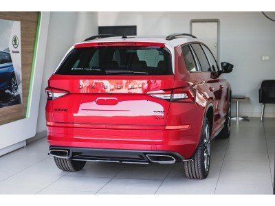 Skoda Kodiaq RS Matrix Rear Bumper Extension