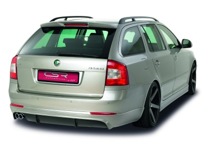 Skoda Octavia MK2 1Z Facelift Kombi NewLine Rear Bumper Extension