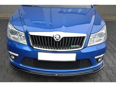 Skoda Octavia MK2 1Z RS Facelift Matrix2 Front Bumper Extension