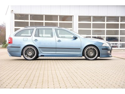 Skoda Octavia MK2 1Z Recto Side Skirts