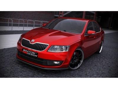 Skoda Octavia MK3 5E MX Front Bumper Extension