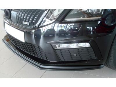 Skoda Octavia MK3 5E RS Facelift Extensie Bara Fata Retina