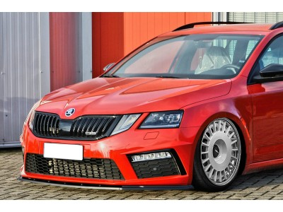 Skoda Octavia MK3 5E RS Facelift Invido Front Bumper Extension