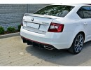 Skoda Octavia MK3 5E RS Facelift Racer Rear Bumper Extension