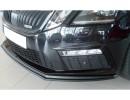 Skoda Octavia MK3 5E RS Facelift Retina Front Bumper Extension