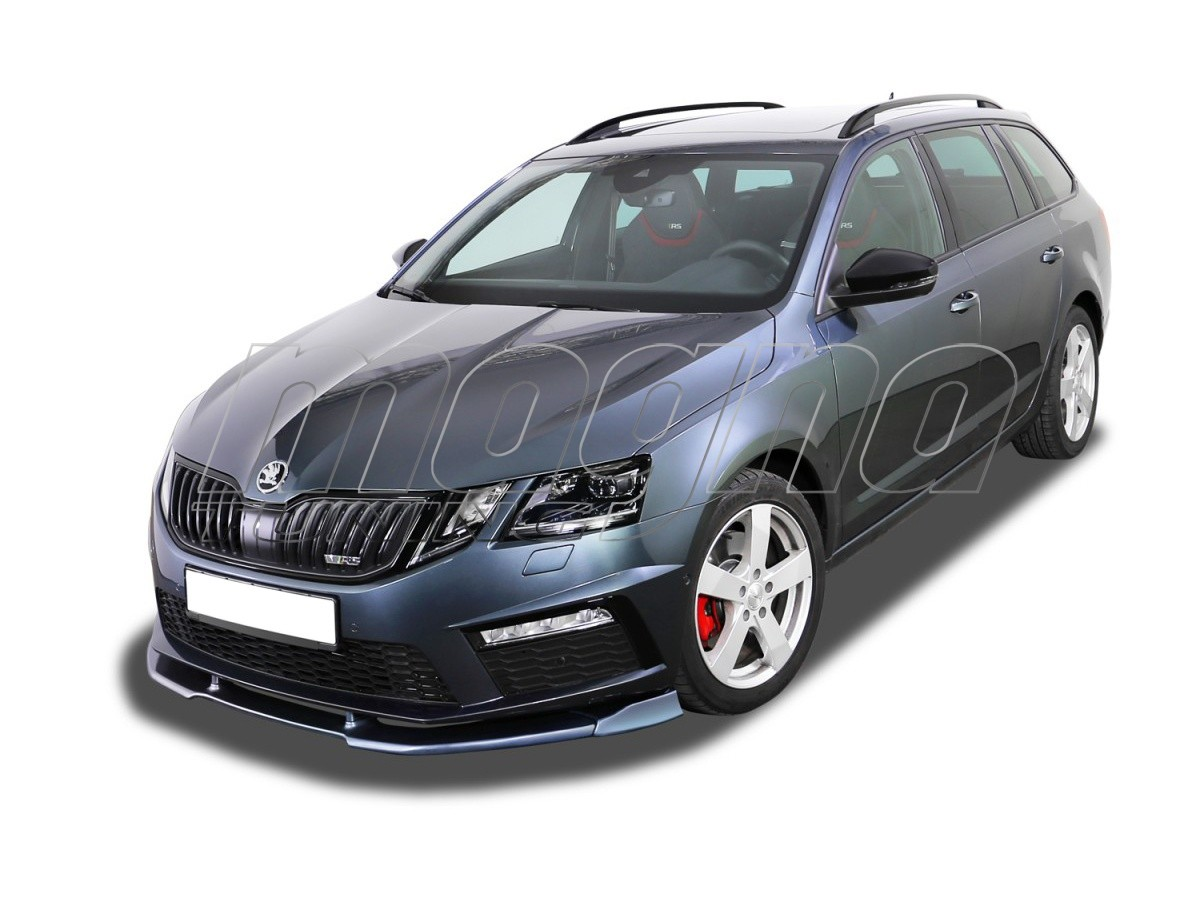 skoda octavia mk3 5e rs facelift v2 front bumper extension. Black Bedroom Furniture Sets. Home Design Ideas