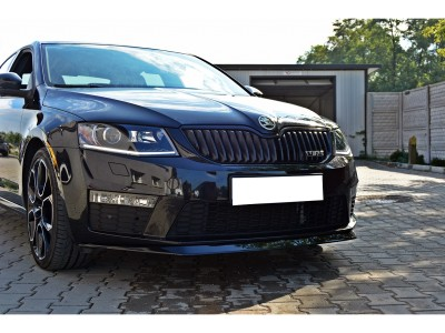 Skoda Octavia MK3 5E RS Matrix Front Bumper Extension