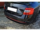 Skoda Octavia MK3 5E RS Matrix Rear Bumper Extension