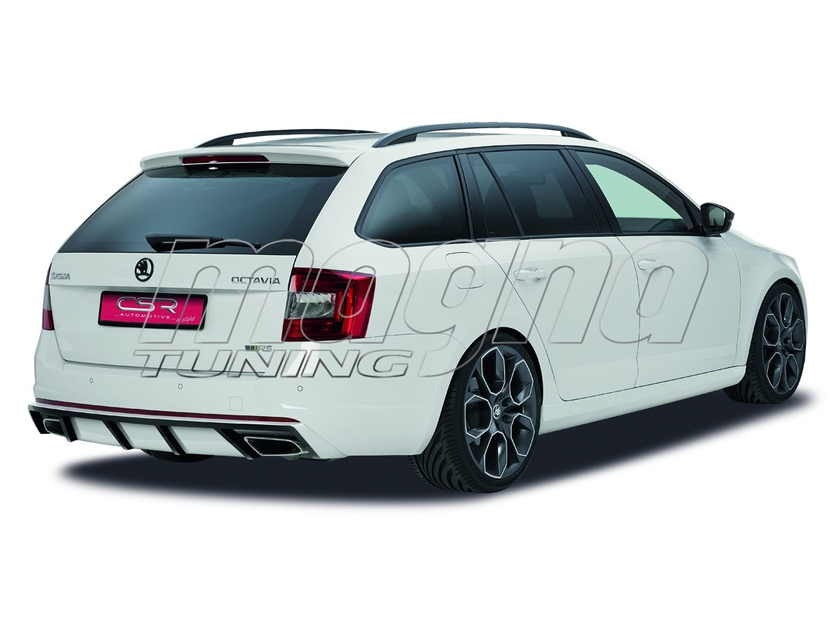 skoda octavia mk3 5e rs newline rear bumper extension. Black Bedroom Furniture Sets. Home Design Ideas