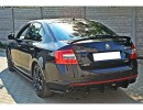 Skoda Octavia MK3 5E RS RaceLine Rear Bumper Extension