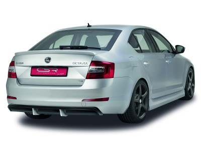 Skoda Octavia MK3 5E SX Rear Bumper Extension