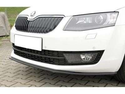 Skoda Octavia MK3 5E Vector Front Bumper Extension