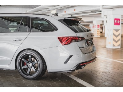 Skoda Octavia RS MK4 Matrix Rear Bumper Extensions