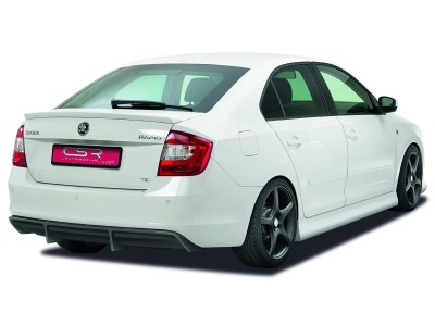 Skoda Rapid NewLine Rear Bumper Extension