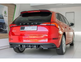 Skoda Scala MX Rear Bumper Extension