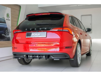 Skoda Scala MX Rear Bumper Extension