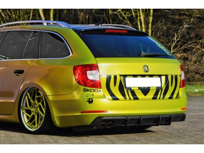 Skoda Skoda Superb B6 3T Isota2 Rear Bumper Extension