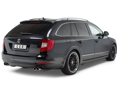 Skoda Superb B6 3T Citrix Rear Wing Extension