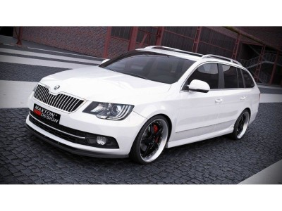 skoda superb b6 3t body kit front bumper rear bumper side skirts tuning wing hood trunk. Black Bedroom Furniture Sets. Home Design Ideas