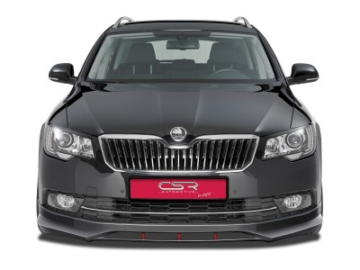Skoda Superb B6 3T Facelift N2 Front Bumper Extension