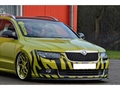 Skoda Superb B6 3T Isota Front Bumper Extension