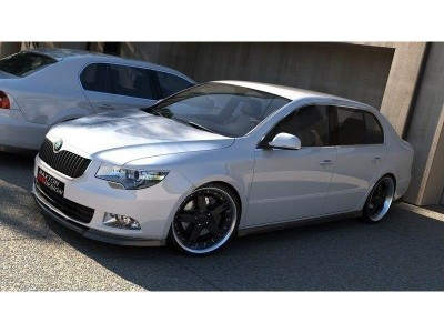 Skoda Superb B6 3T M-Line Front Bumper Extension