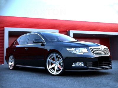 Skoda Superb B6 3T Meteor Front Bumper Extension