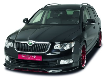 Skoda Superb B6 3T NewLine Front Bumper Extension