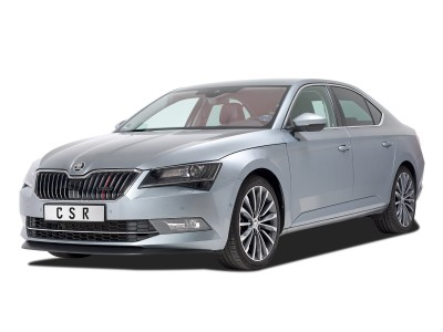 Skoda Superb B8 3V CX Front Bumper Extension