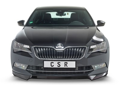 Skoda Superb B8 3V Crono Front Bumper Extension