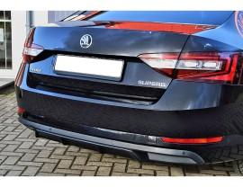 Skoda Superb B8 3V Intenso Rear Bumper Extension
