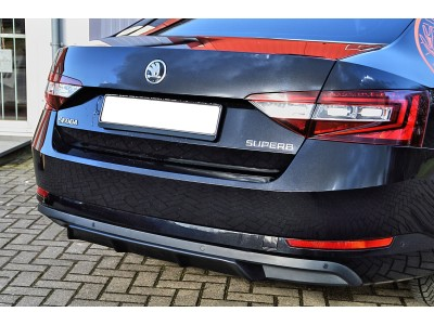 Skoda Superb B8 3V Intenso Rear Bumper Extension