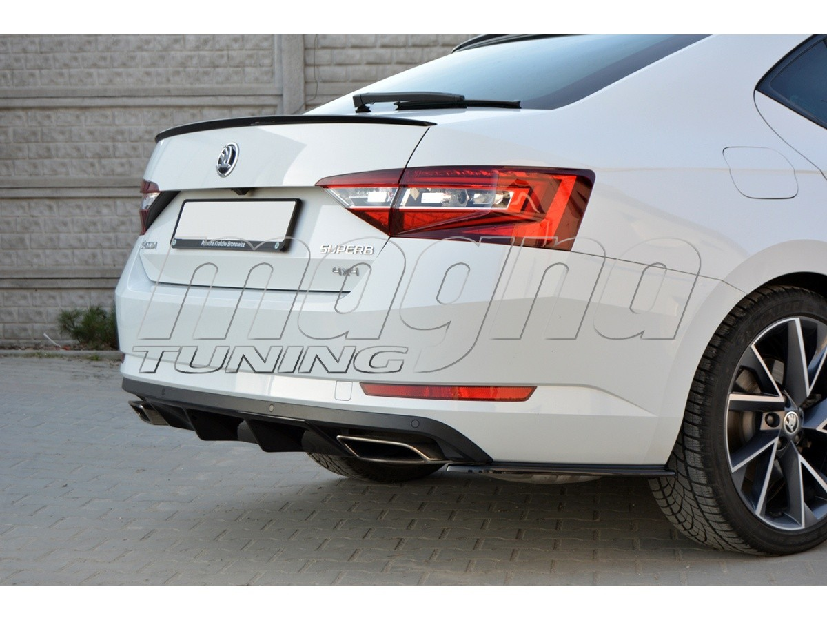 skoda superb b8 3v mx rear wing. Black Bedroom Furniture Sets. Home Design Ideas