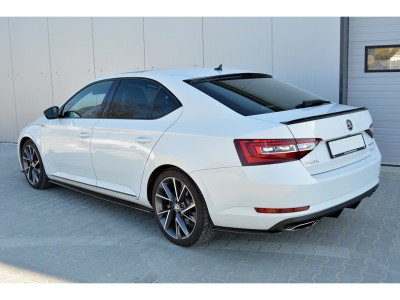 Skoda Superb B8 3V MX Side Skirt Extensions