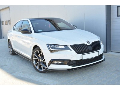 Skoda Superb B8 3V MX2 Front Bumper Extension