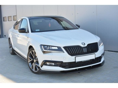 Skoda Superb B8 3V MX3 Front Bumper Extension