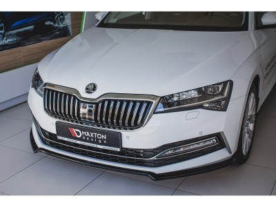 Skoda Superb B8 3V Matrix Front Bumper Extension