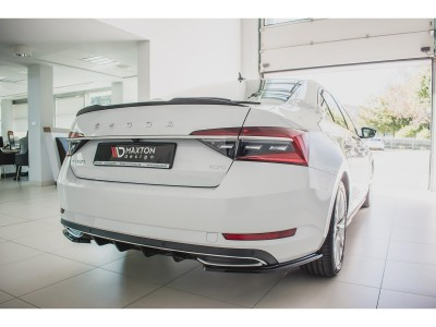 Skoda Superb B8 3V Matrix Rear Wing Extension