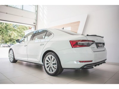 Skoda Superb B8 3V Matrix Side Skirt Extensions
