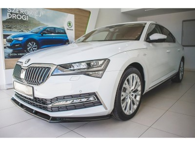 Skoda Superb B8 3V Matrix2 Front Bumper Extension