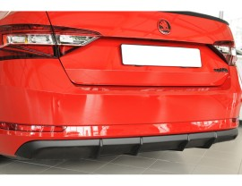 Skoda Superb B8 3V Razor Rear Bumper Extension
