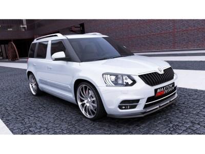 Skoda Yeti MK1 Facelift Extensie Bara Fata M-Style