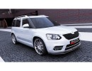 Skoda Yeti MK1 Facelift M-Style Front Bumper Extension