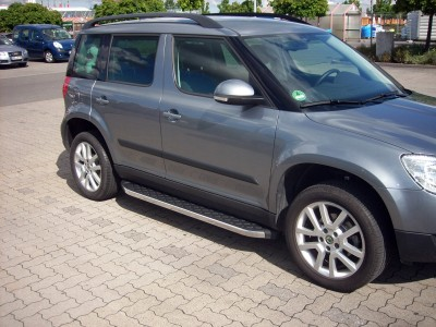 Skoda Yeti MK1 Helios Running Boards