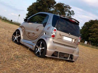 Smart ForTwo NT Rear Bumper Extension