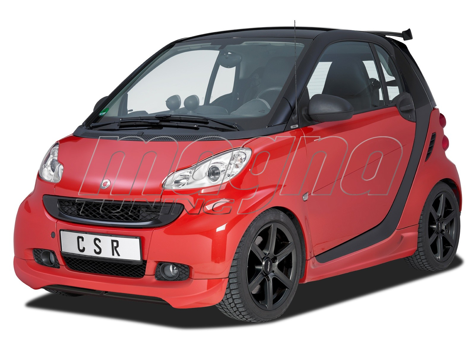 Smart ForTwo W451 Crono Front Bumper Extension