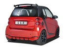 Smart ForTwo W451 Crono Rear Bumper Extension
