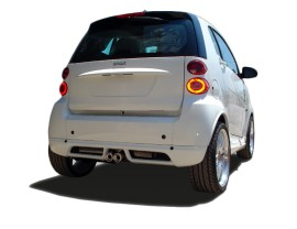 Smart ForTwo W451 Meteor Rear Bumper Extension