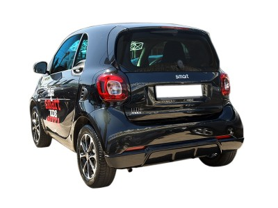Smart ForTwo W453 Meteor Rear Bumper Extension